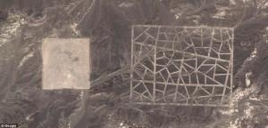 Strange Chinese Structures in Gobi Desert