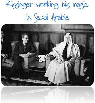 Henry Kissinger goes to Saudi Arabia in 1973 - The Coming Collapse of the Petrodollar System