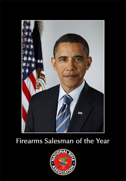 Obama: Firearms Salesman of the Year