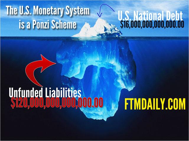 The U.S. Monetary System is a Ponzi Scheme