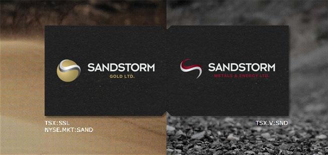 Sandstorm Gold Ltd