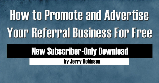 How to Promote and Advertise Your Referral Business For Free