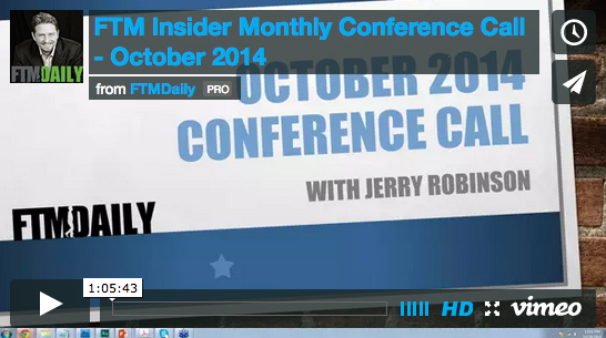 October 2014 Conference Call