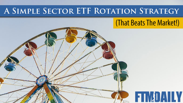 PODCAST: A Simple Sector ETF Rotation Strategy That Beats the Market