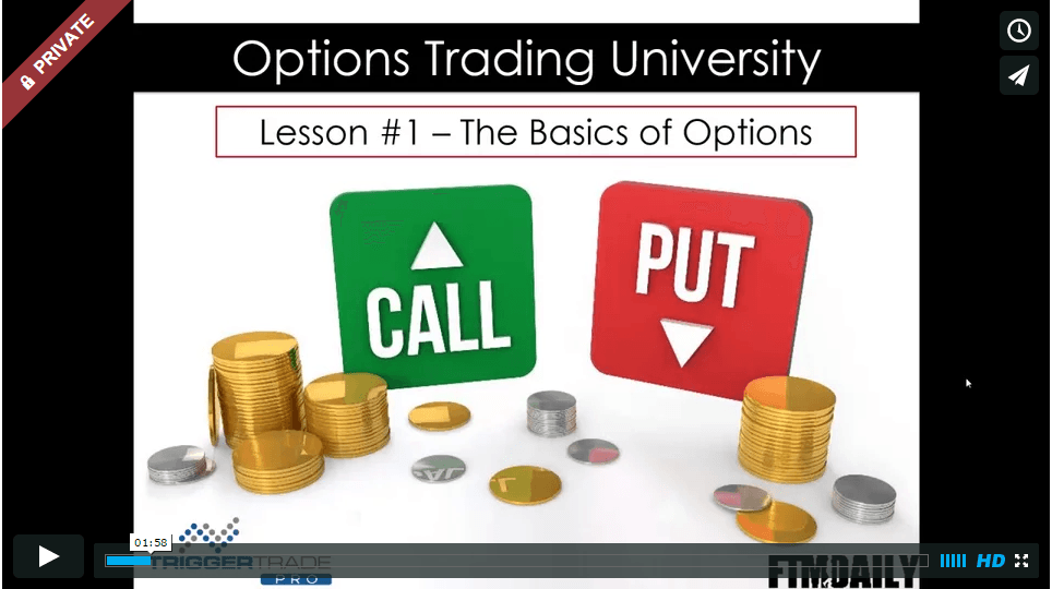 VIDEO TUTORIAL: The Basics of Options
