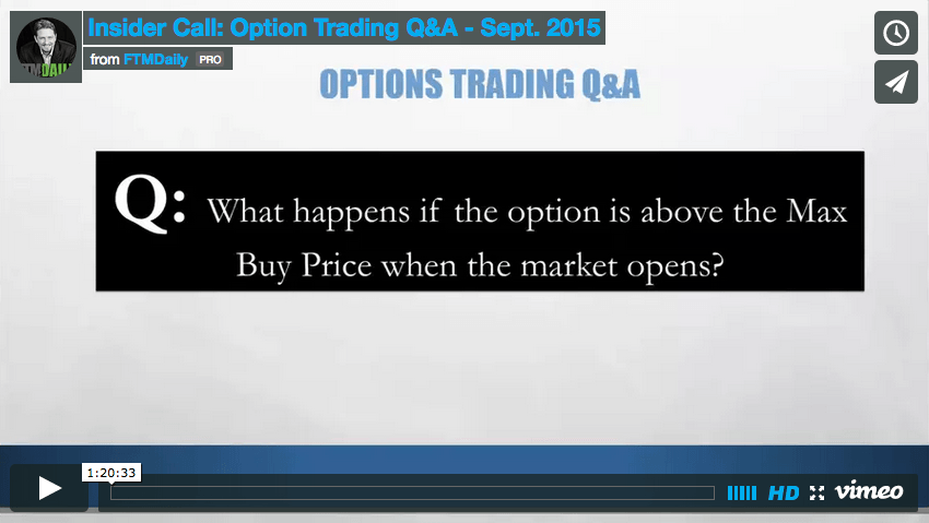 WEBCAST: All Your Options Trading Questions Answered