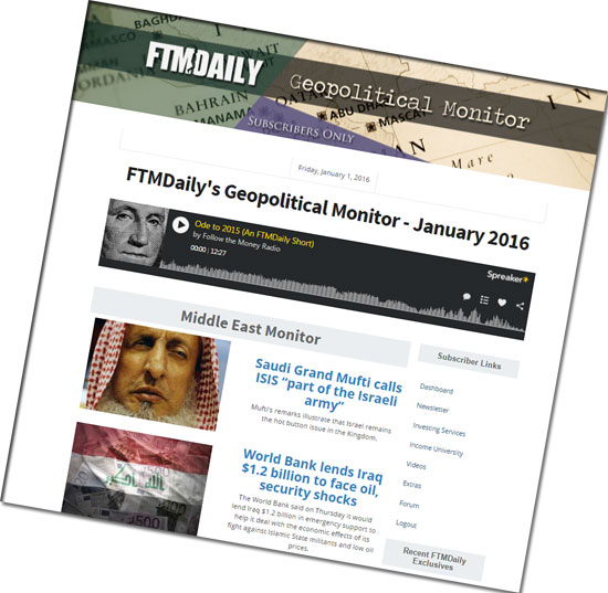 Geopolitical Monitor - February 2016