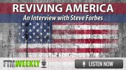 Reviving America - An Interview with Steve Forbes