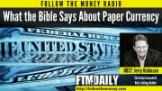 What the Bible Say About Paper Currency
