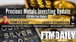 Precious Metals Investing Update 2016