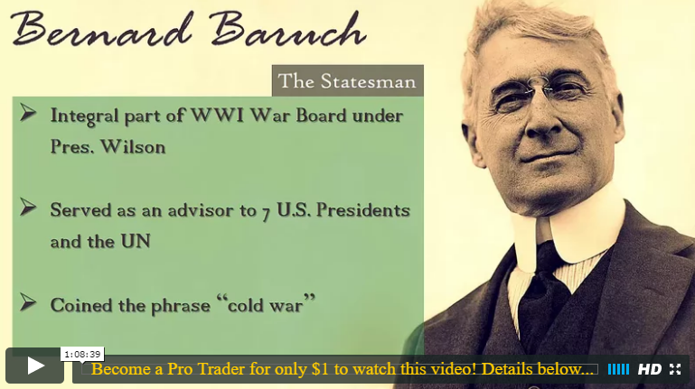 What Traders Can Learn From Bernard Baruch