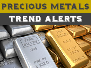 View Precious Metals Trends/Charts