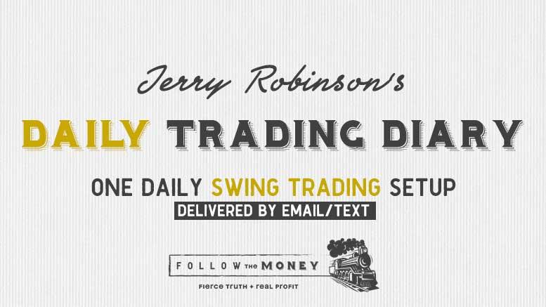 Jerry Robinson's Daily Trading Diary