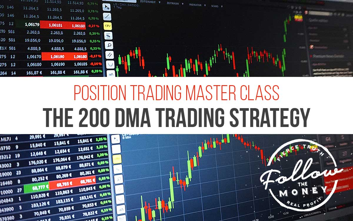 Position Trading Master Class - 200 DMA Trading Strategy