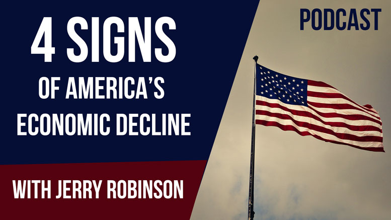 Four Signs of America's Economic Decline