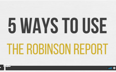 Private Group Coaching: 5 Ways To Use The Robinson Report