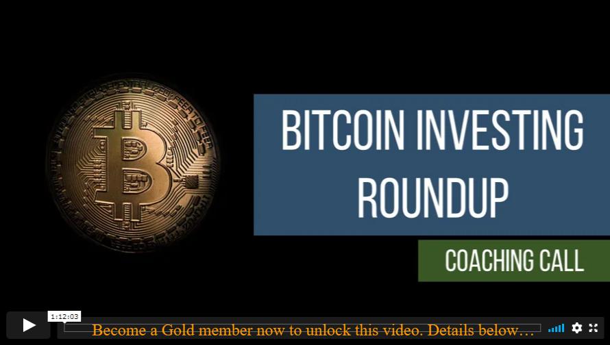 Bitcoin Investing Roundup