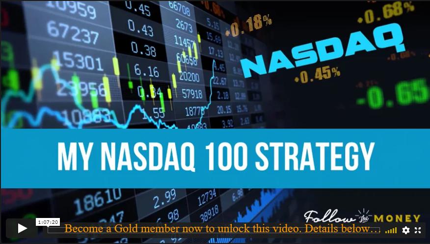 My Nasdaq 100 Strategy