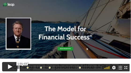 VIDEO: The Model For Financial Success
